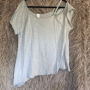 We the free taupe tunic shirt.